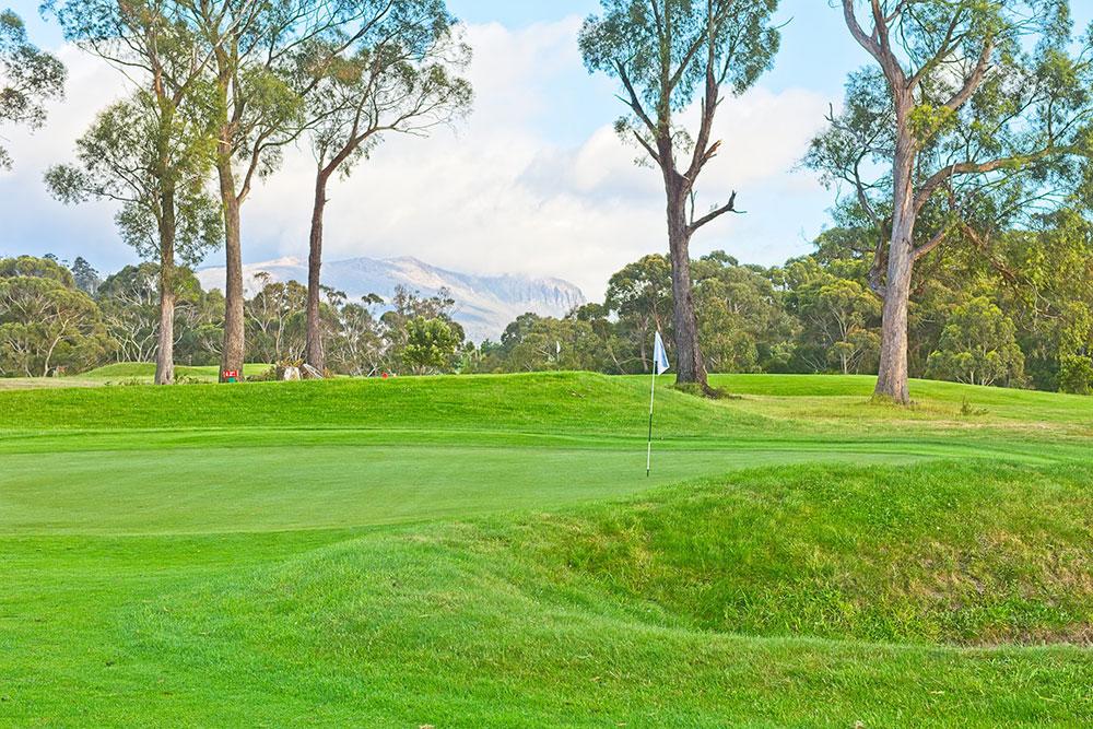 Golf course margate tasmania